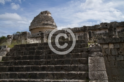 chichen itza ruins in the state of Yucatan mexico