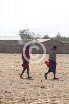 life of masai people around arusha in tanzania