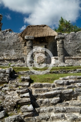 tulum ruins in South mexico in the state of quintana roo