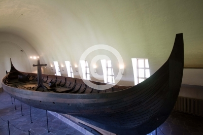 viking boats in the oslo museum